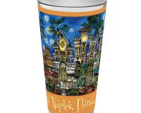 Naples, Florida Pint Glass