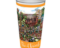 pubsOf Knoxville Tennessee pint glass for University of Tennessee