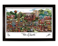Knoxville Framed Print-01